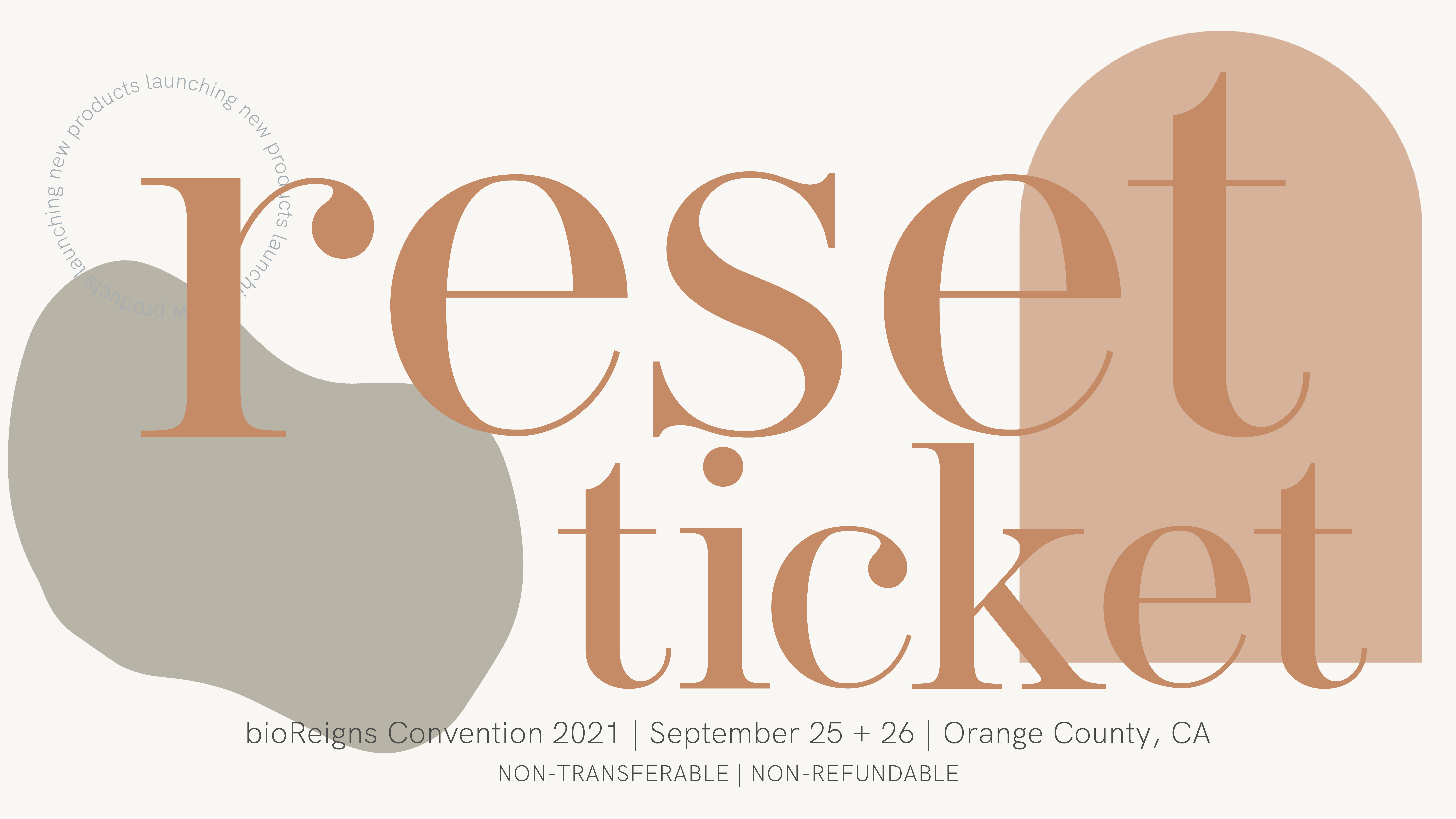bioReset Convention | single ticket