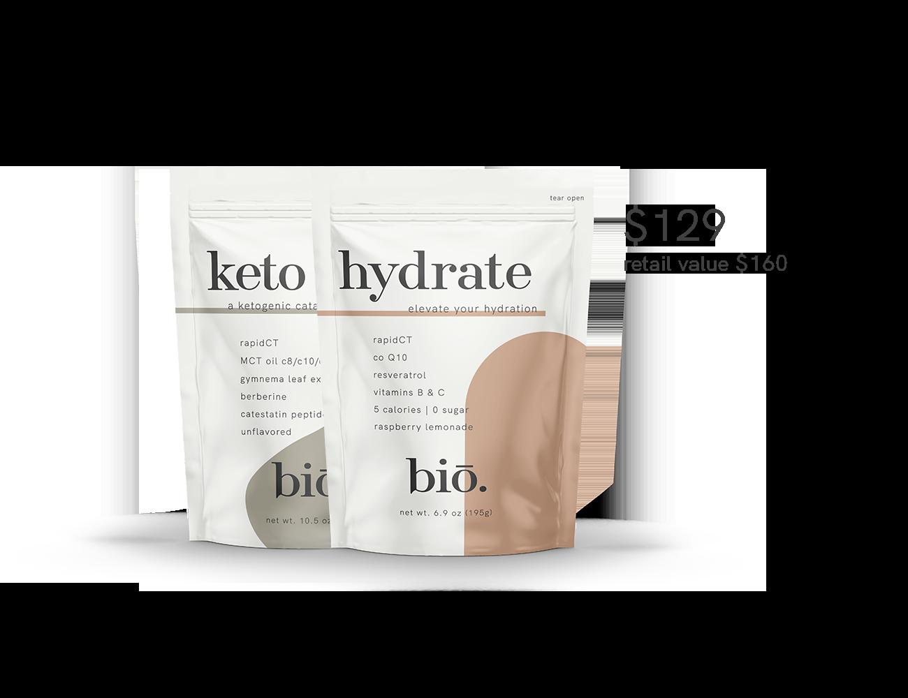 hydrate | keto pack