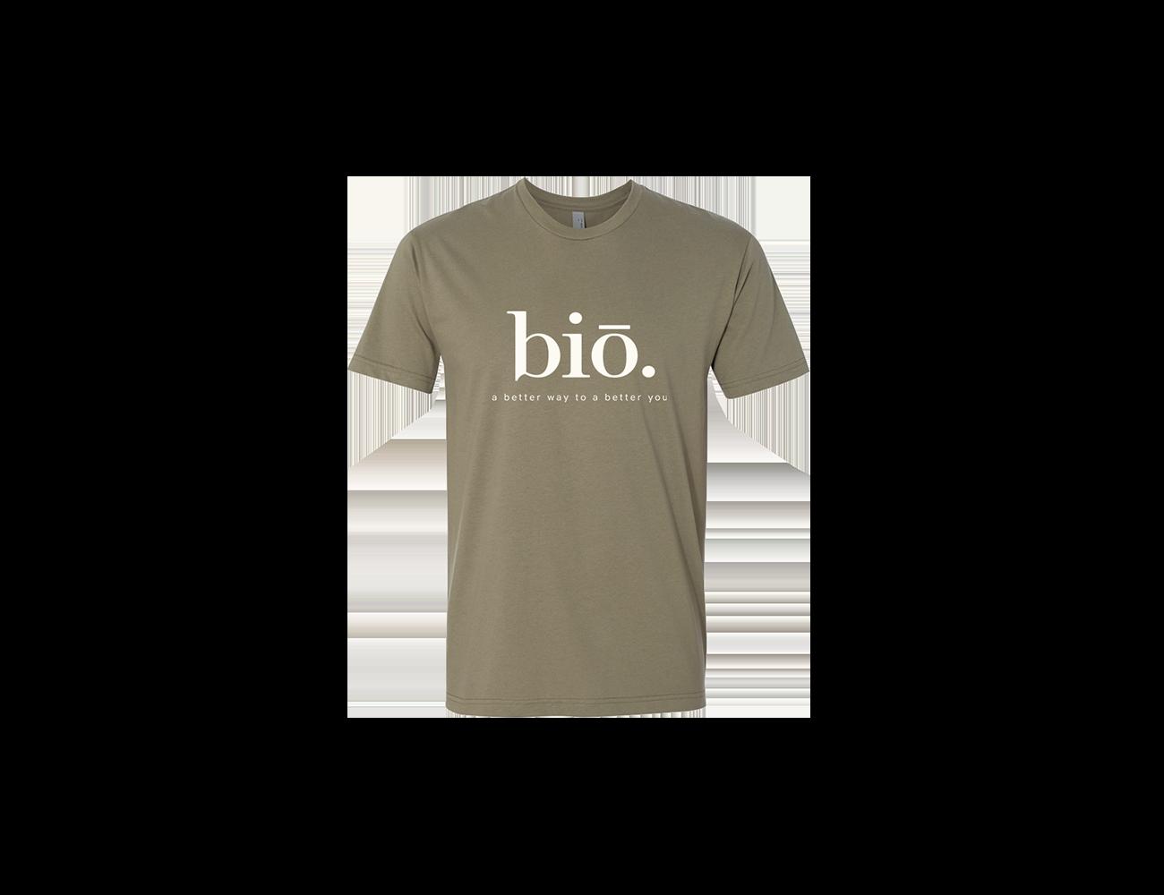 bio t shirt | olive