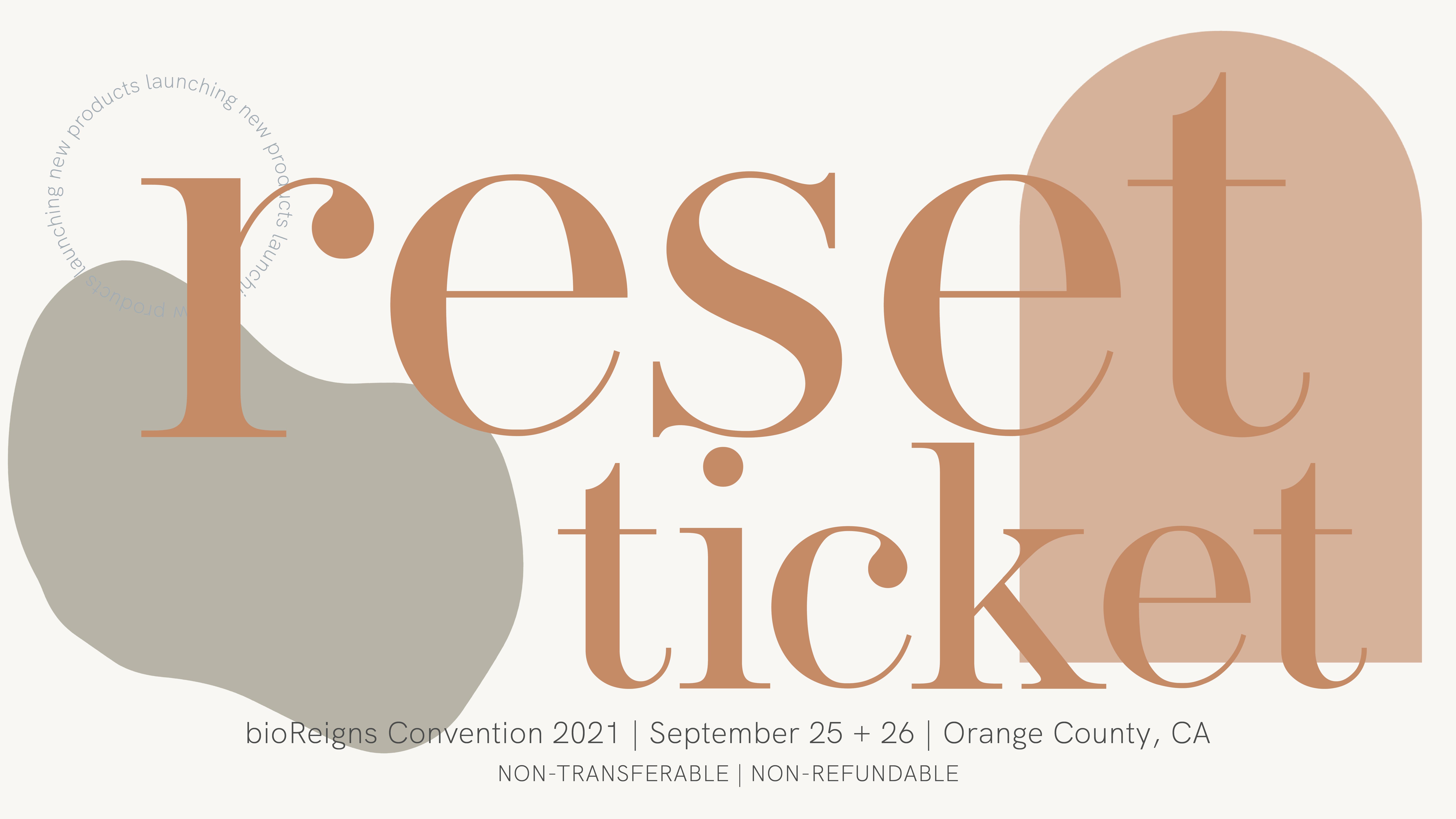 bioReset Convention | 5 pack