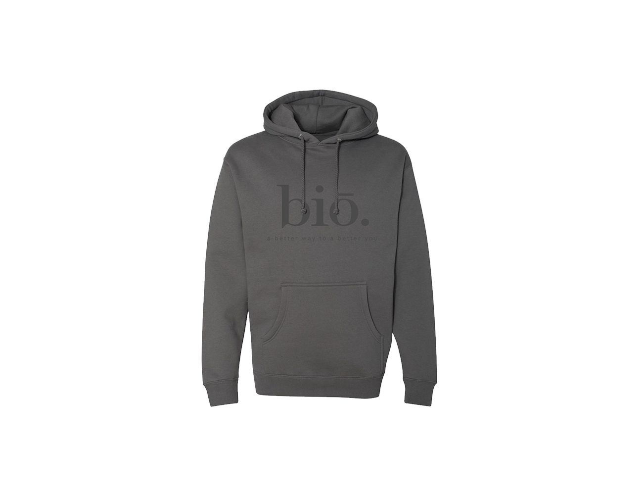 bio pullover | charcoal