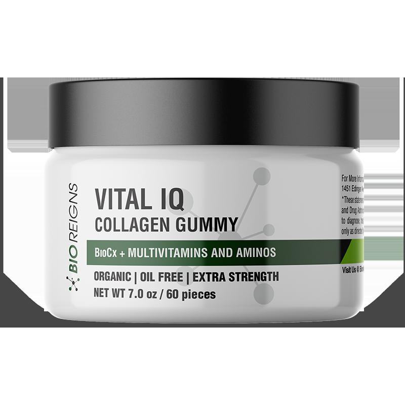 Vital IQ + Collagen Organic Gummies - 0