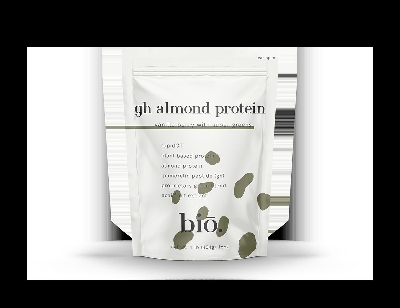 gh almond protein | vanilla berry
