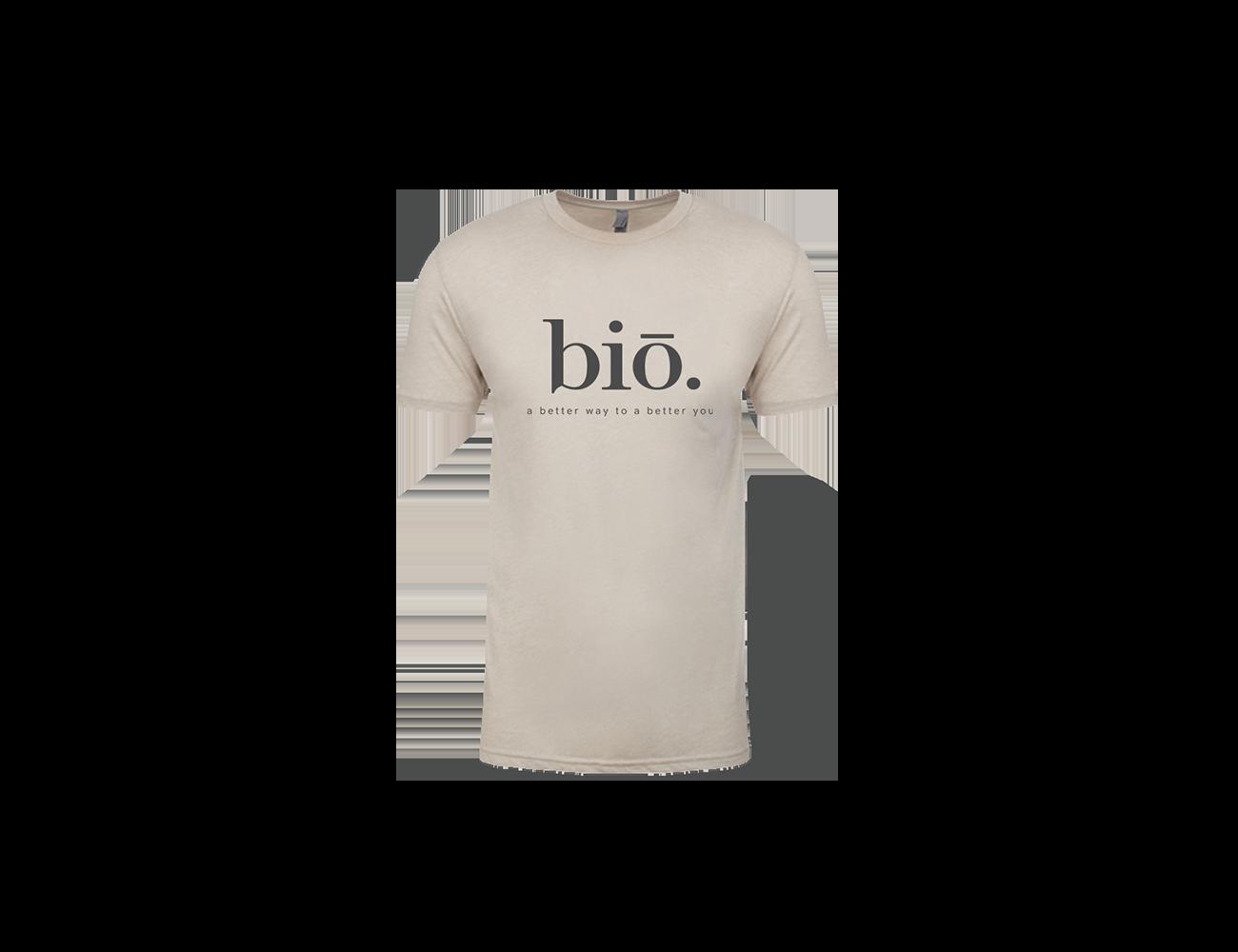 bio t shirt | sand