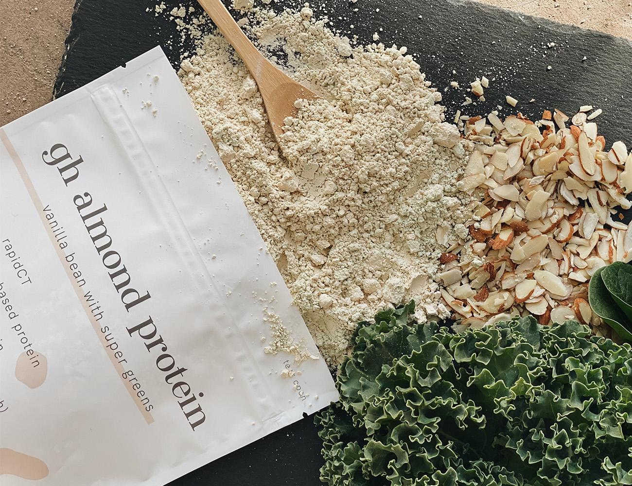 gh almond protein | vanilla